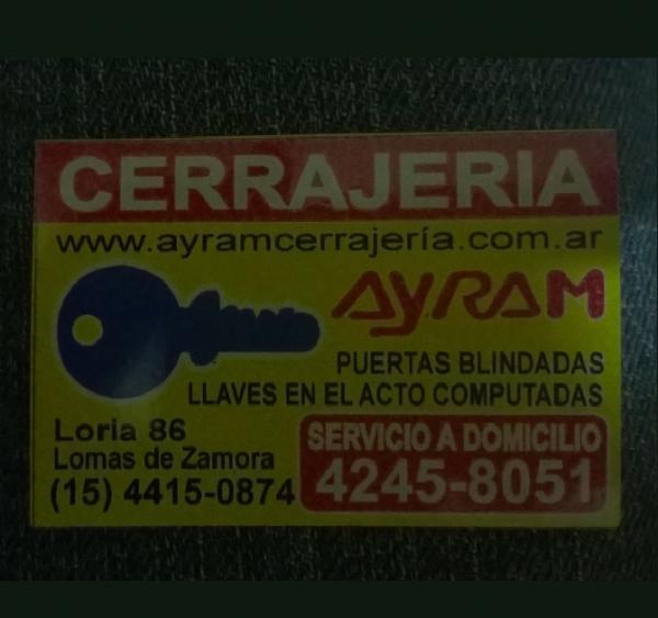 Cerrajería AYRAM